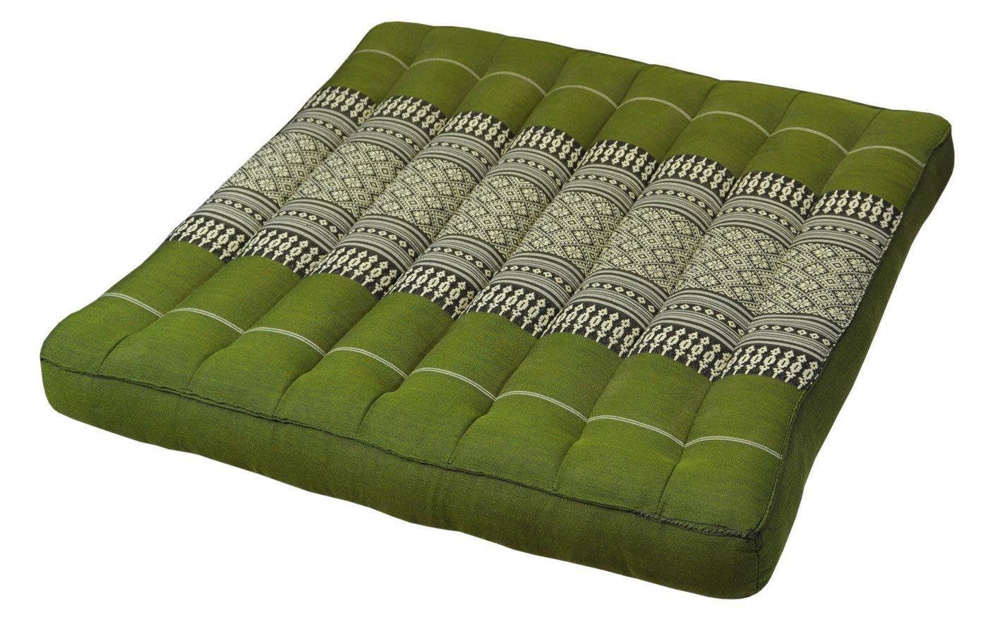 sitzkissen gross gr n. Black Bedroom Furniture Sets. Home Design Ideas