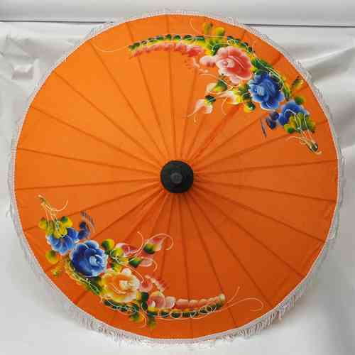 Asiaschirm Orange 50 cm